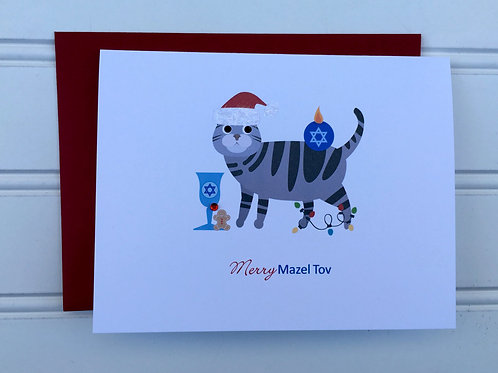 Chrismukkah Card