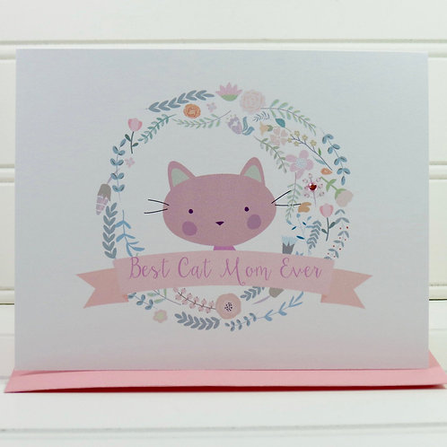 Cat Mother�s Day Card
