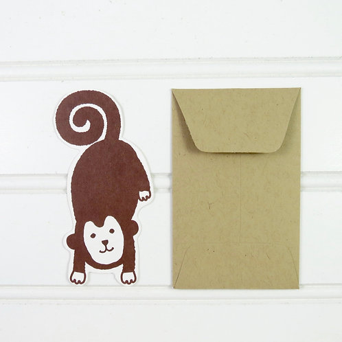 Mini Monkey Card