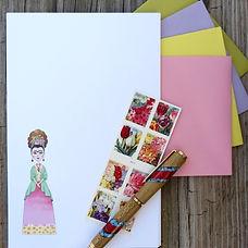 Frida Kahlo Letter Writing Stationery Se