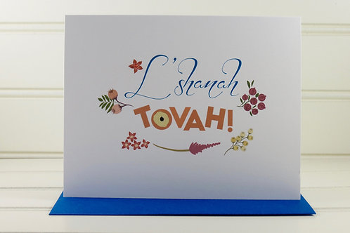 L' Shanah Tovah Card