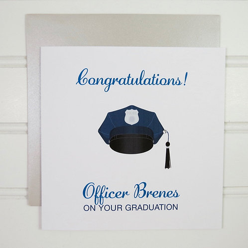 Military Graduation Card