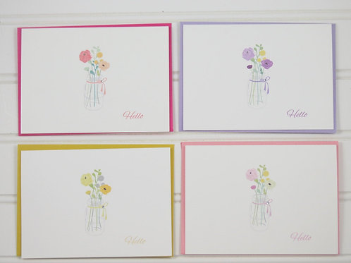 Floral Boxed Notecard Set