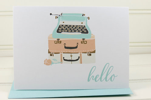 Typewriter Cards