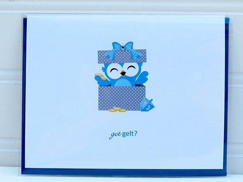 Cute Hanukkah Card
