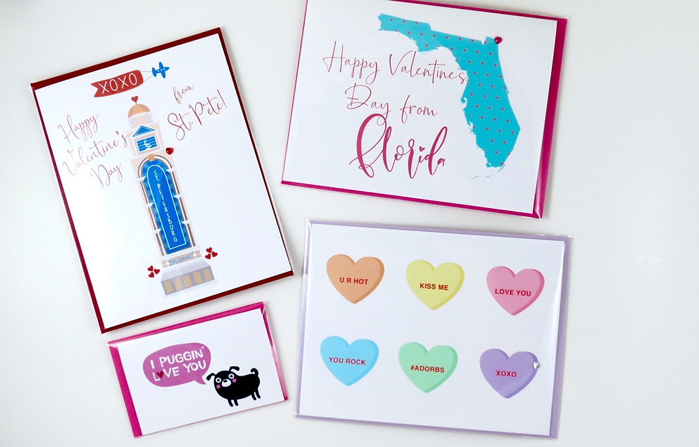 Valentine's Day Cards by Playa Paper, Ha
