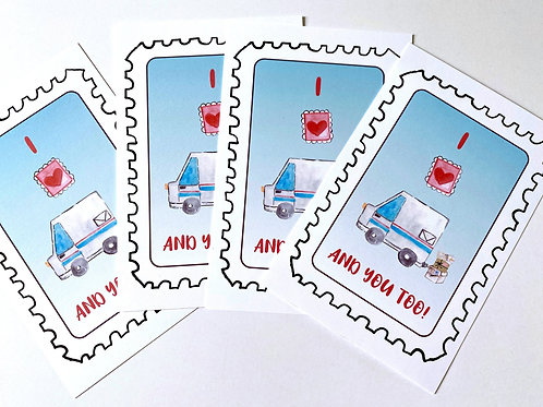 USPS Postcards