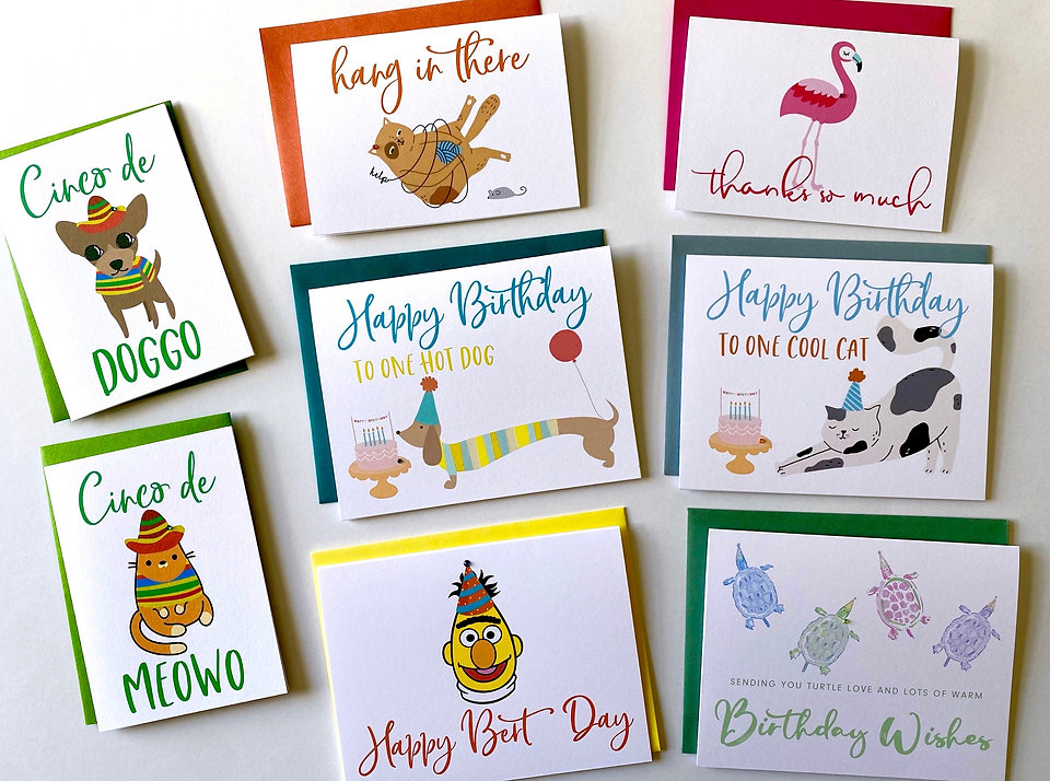 Playa Paper Greeting Cards, Funny Cinco
