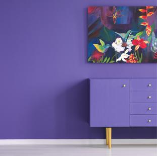 Hummingbird Carnival Painting