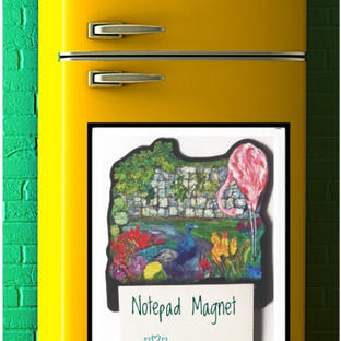Notepad Magnet