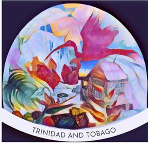 Trinidad and Tobagp snow globe