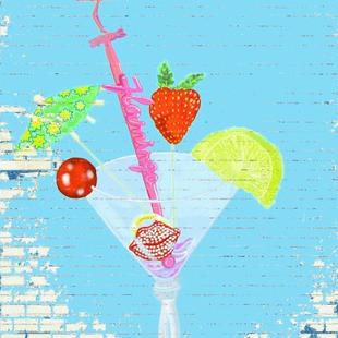 Cocktail Glass I Pad Art