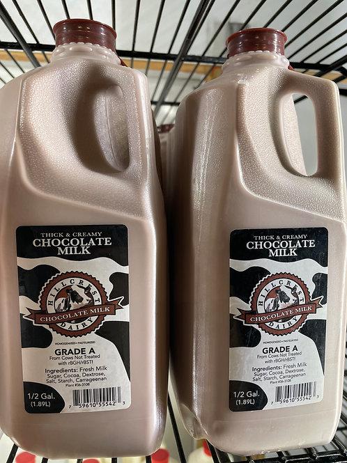1/2 Gal Chocolate Milk Hillcrest