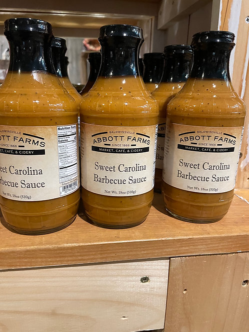 Sweet Carolina Barbecue Sauce