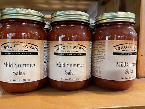 Mild Summer Salsa