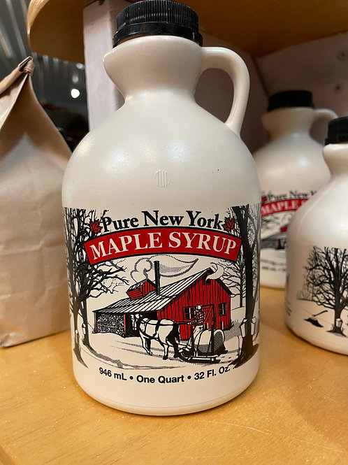 Shute's Sugar Shack Golden Maple Syrup Quart
