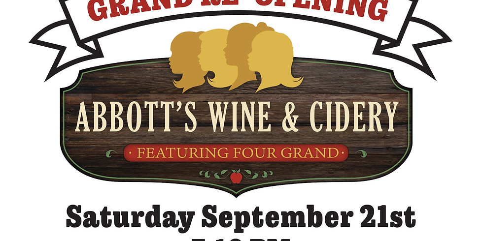Abbott's Wine & Cidery Grand Re-Opening- S'mores & Cider