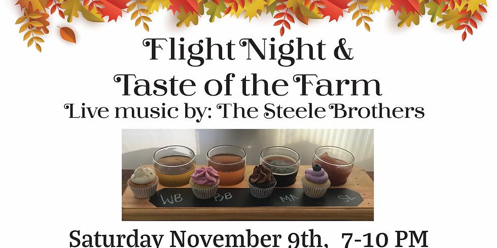 Flight Night & Taste of the Farm