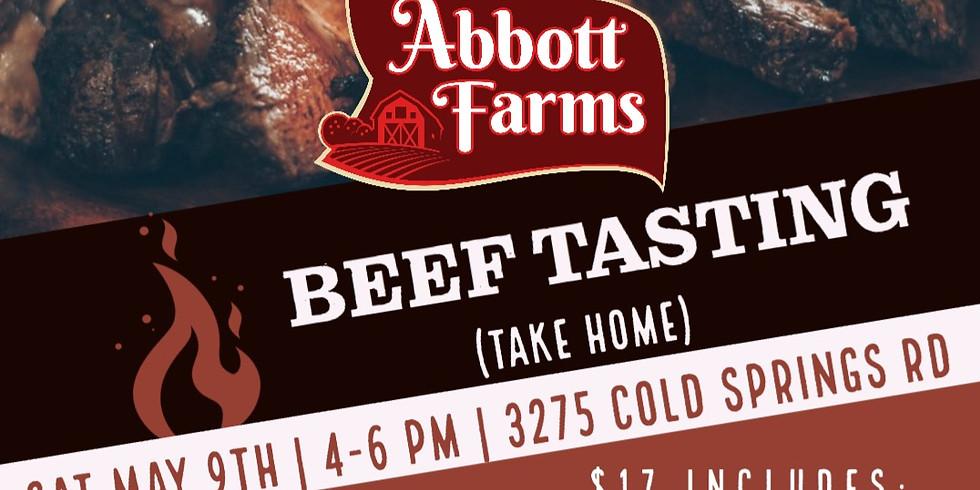 Beef Tasting (Take Home!)