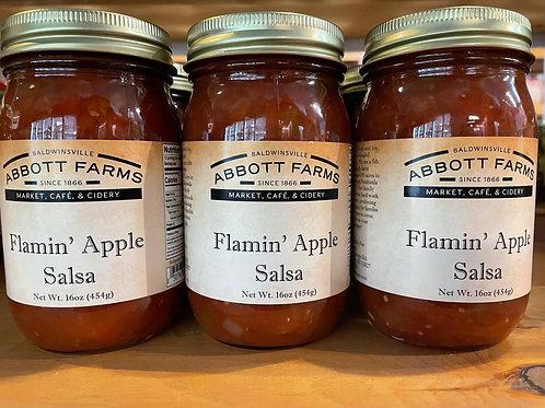 Flamin' Apple Salsa