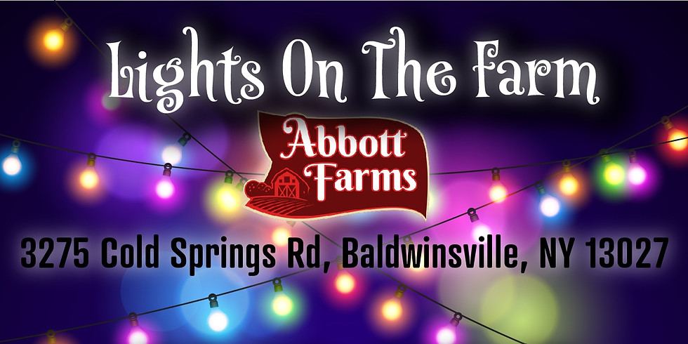 Lights On The Farm!