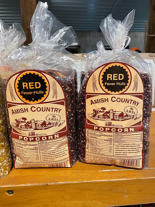 Amish Country Popcorn Red