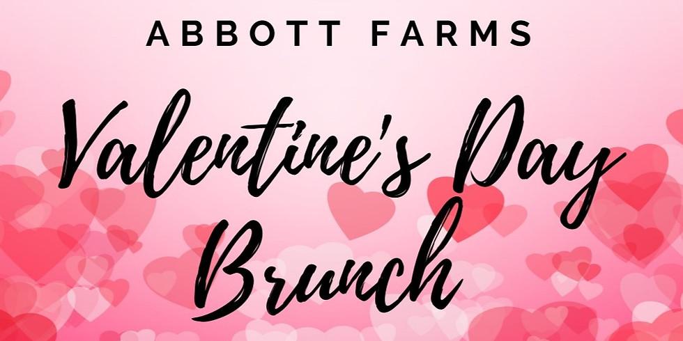 Valentine's Day Brunch Buffet 11:00AM-12:30PM