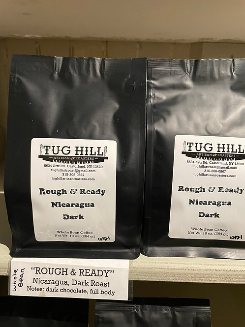 Tug Hill Rough & Ready Nicaraguan Coffee