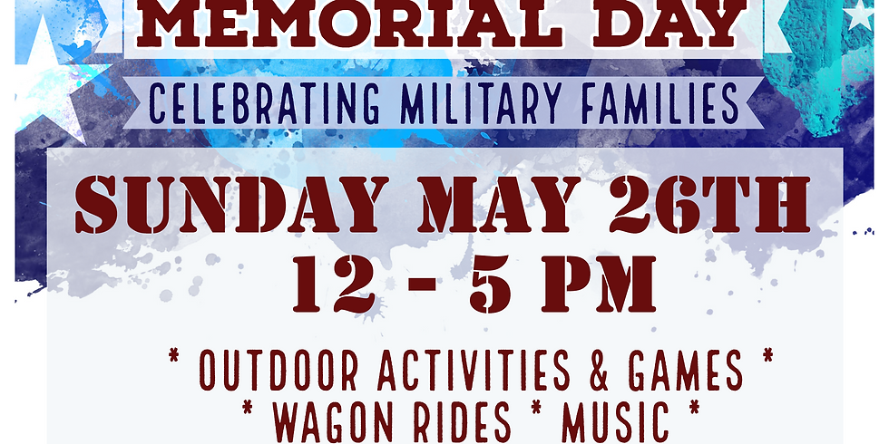 Memorial Day at Abbott Farms