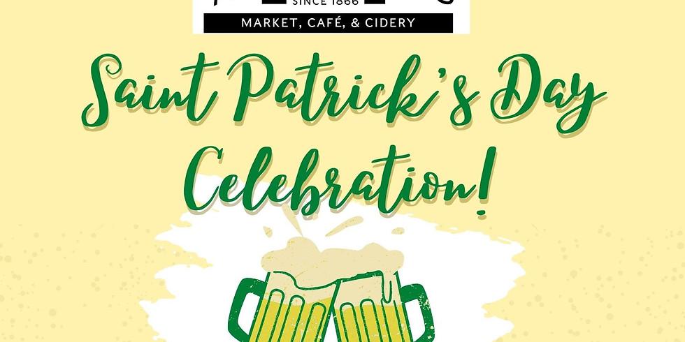 Saint Patrick's Day Celebration!