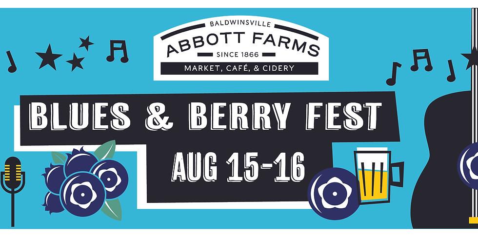 SUN. Blues & Berry Fest