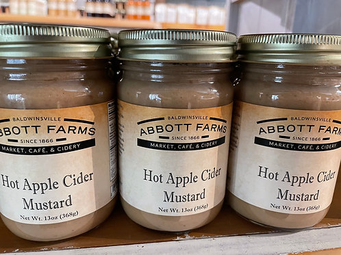 Hot Apple Cider Mustard