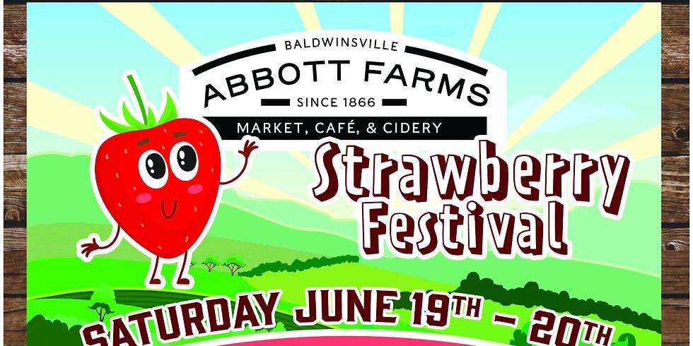 Strawberry Fest Saturday Admission