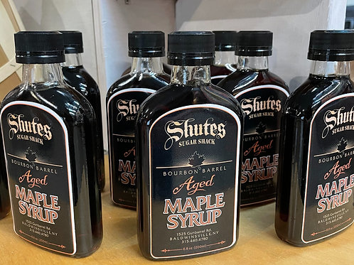 Shute's Sugar Shack Bourbon Aged Maple Syrup