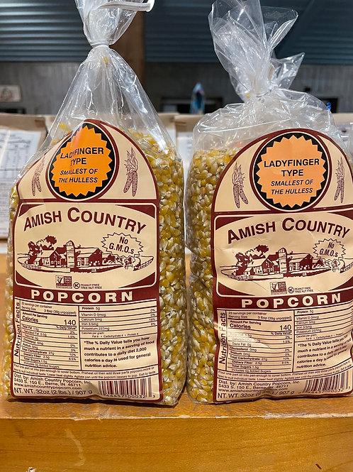 Amish Country Popcorn Ladyfinger