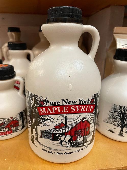 Shute's Sugar Shack Quart Maple Syrup