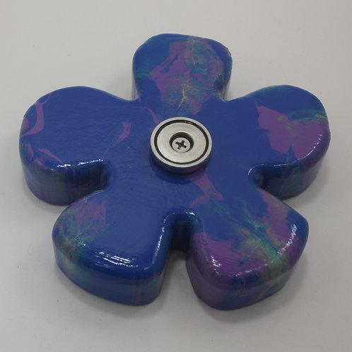 DEEP BLUE FLOWER SOAP SLIDE