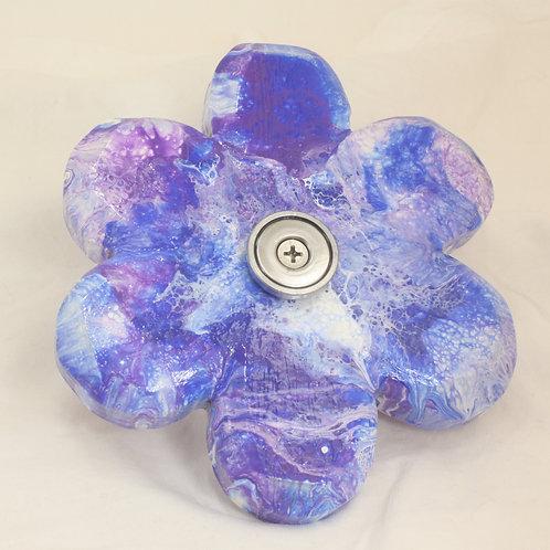 BLUE & PURPLE FLOWER SOAP SLIDE