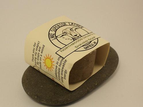 SMALL SHAVING SOAP NORTHWOODS NUT