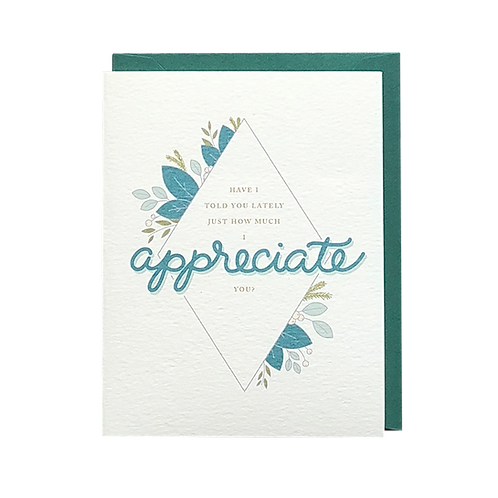 I Appreciate You (boxed set)