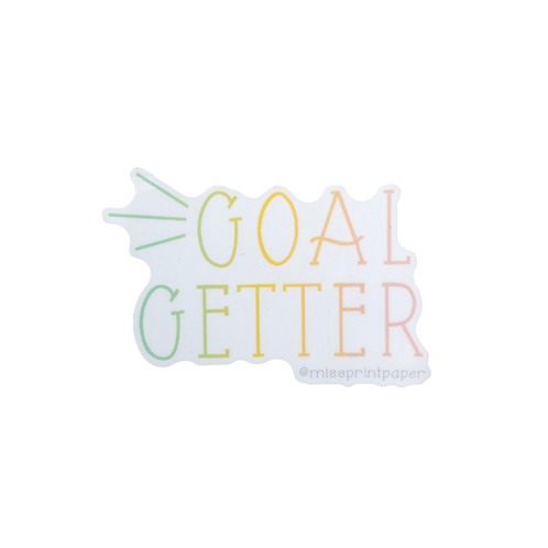 Goal Getter Sticker