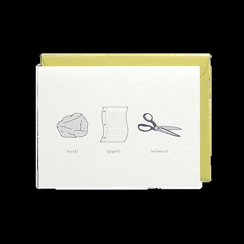 Rock Paper Scissors (boxed set)