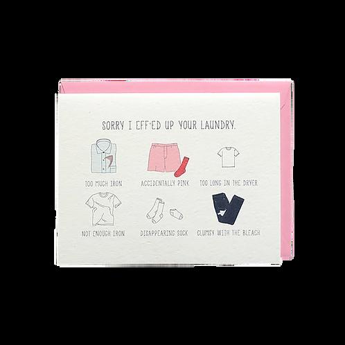 Laundry Sorry