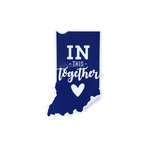IN This Together Sticker (Blue)