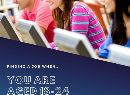 Finding a job if you're aged 18-24