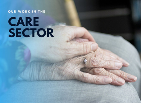 Our work with the care sector
