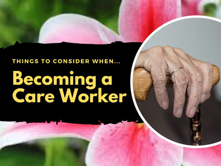 Becoming a Care Worker