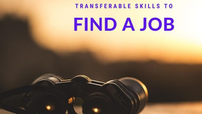 Using your transferable skills to find a job