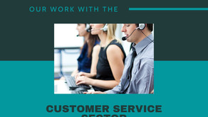 Our work with the customer service sector