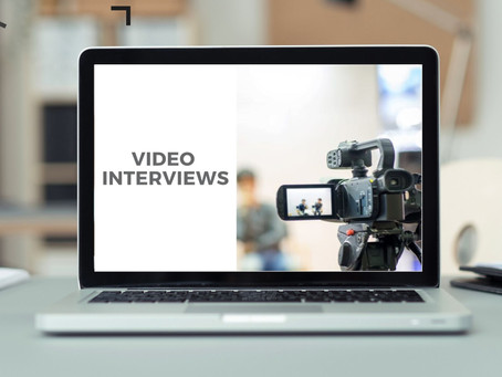 Top Tips for being successful in a Video Interview
